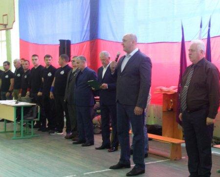 Участники соревнований по РБ.