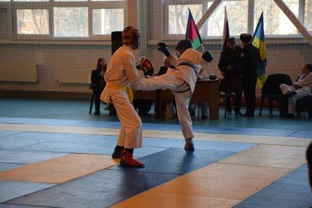Соревнования по рукопашному бою среди допризывной казачьей молодежи Ейского казачьего отдела.