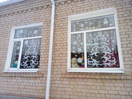 """Всероссийская акция """"Новогодние окна""""."""