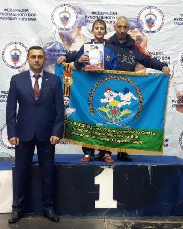 """ВСК """"Гвардеец"""" - победители краевых соревнований."""