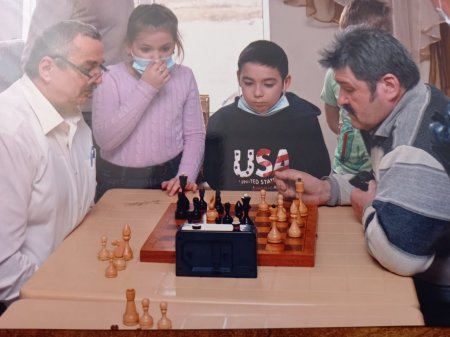 Районный Шахматный турнир.