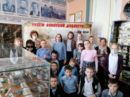 """""""Волюшка"""" в музее."""